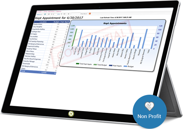 Data Visualization for Healthcare NPO