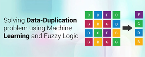 Solving Data- Duplication problem using Machine Learning Algorithm