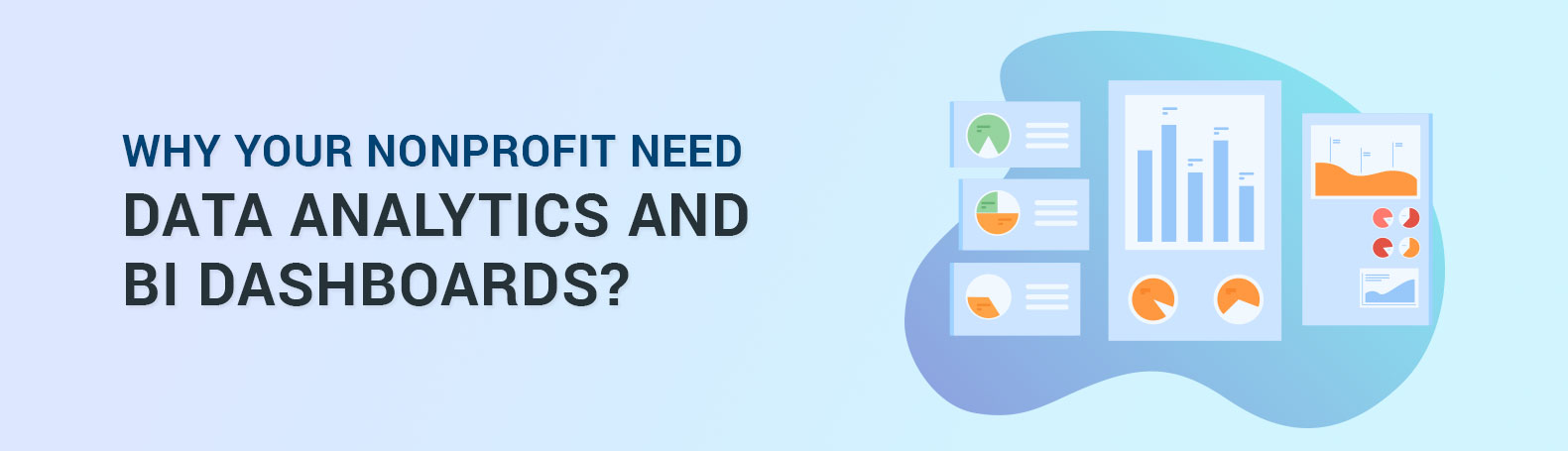 Why your Nonprofit need Data Analytics and  BI dashboards?