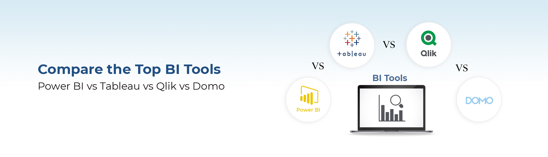 Compare the Top BI Tools: Power BI vs Tableau vs Qlik vs Domo